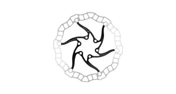 DARTMOOR Nano Bremsscheibe 6-Loch schwarz